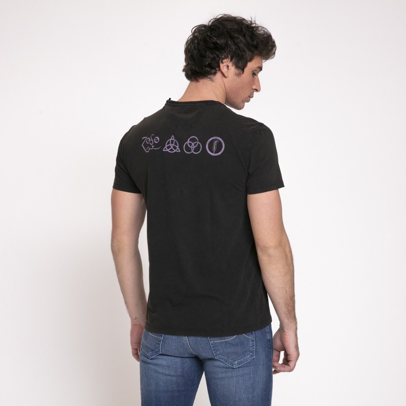 John Varvatos - T-shirt noir Led Zeppelin