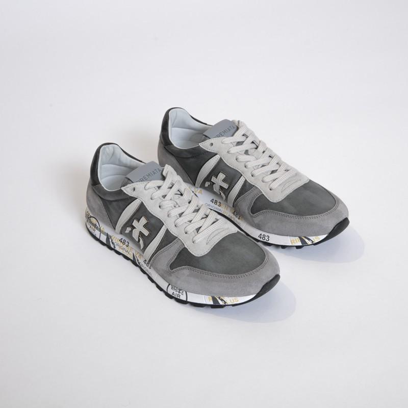 Premiata - Sneakers basses ERIC grises