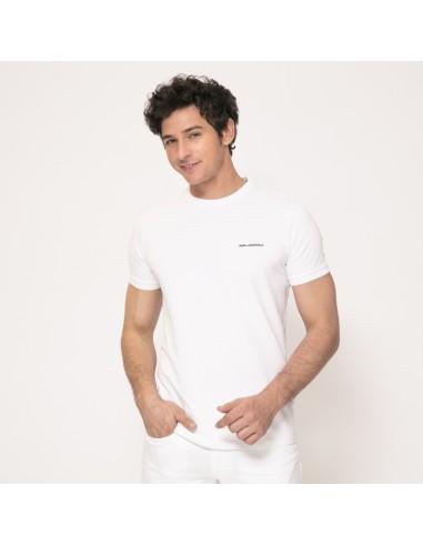 Karl Lagerfeld - T-shirt blanc à logo
