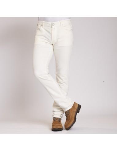 Jacob Cohën - Jeans blanc velours cotelé