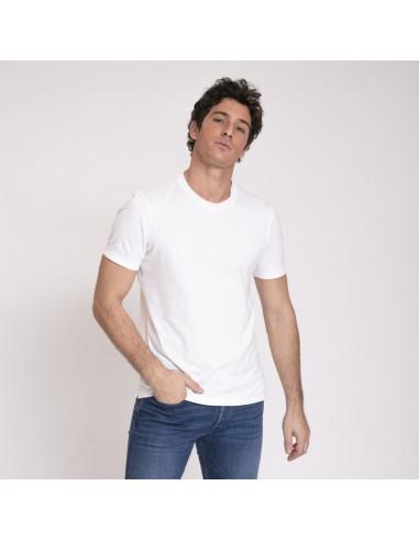Brunello Cucinelli - T-shirt blanc ras-du-cou